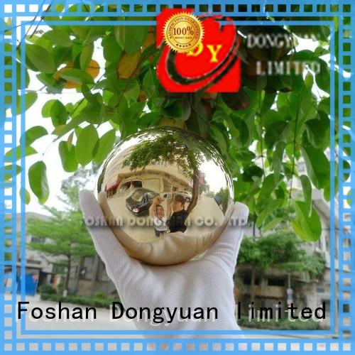 DONGYUAN aluminum large solid copper ball suppliers for square