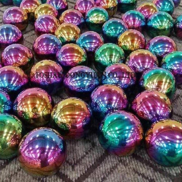 2 Inch Hollow Rainbow Metal Balls