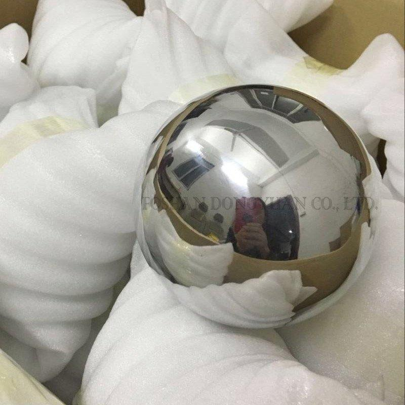 120mm Polished Aluminum Hollow Ball