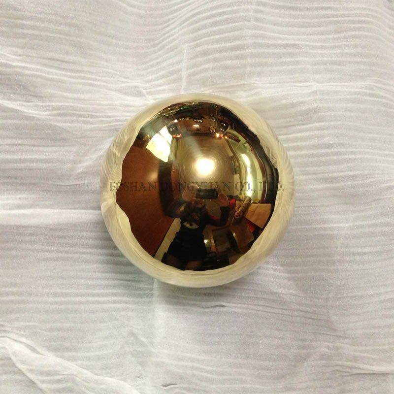 Mirror Polished Brass Sphere