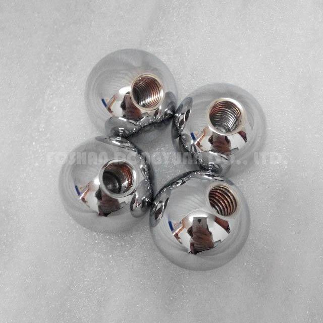 Polished Stainless Steel Ball with M8 Thread