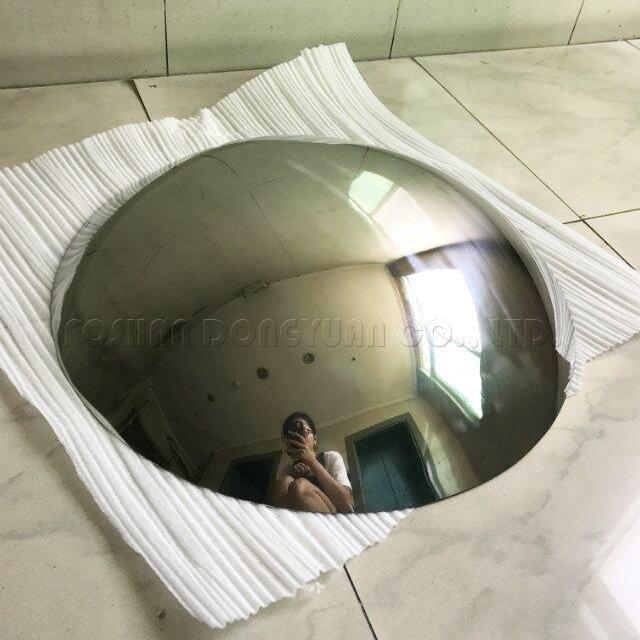 570mm Mirror Stainless Steel Hemisphere