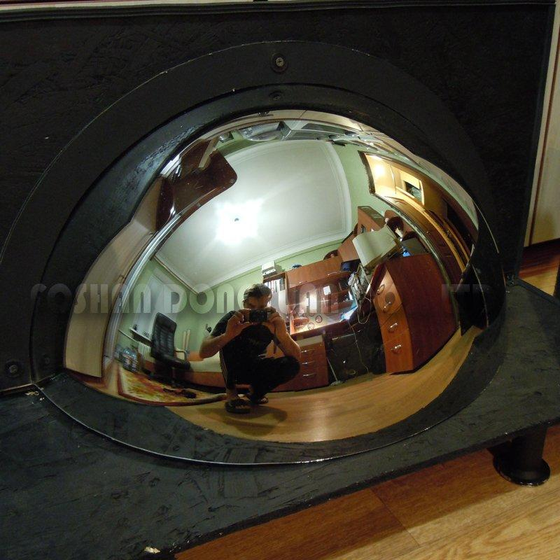 400mm Mirror Stainless Steel Hemisphere