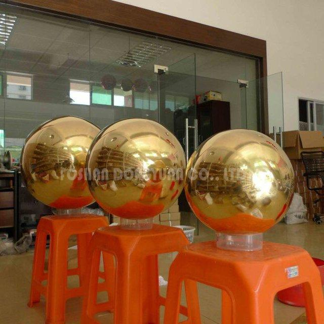 300mm Polished Hollow Brass Sphere