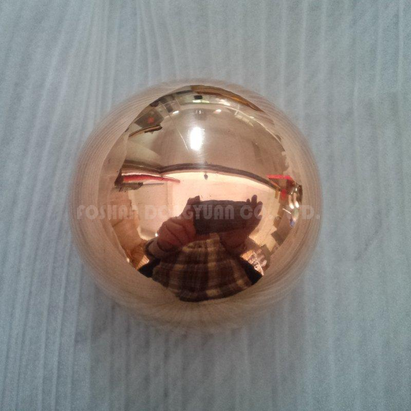 60mm Mirror Polished Copper Ball