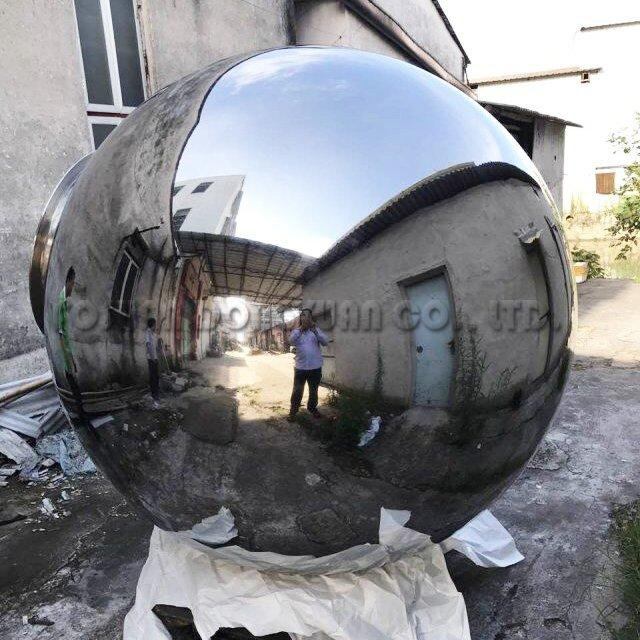Large Shiny Stainless Steel Ball