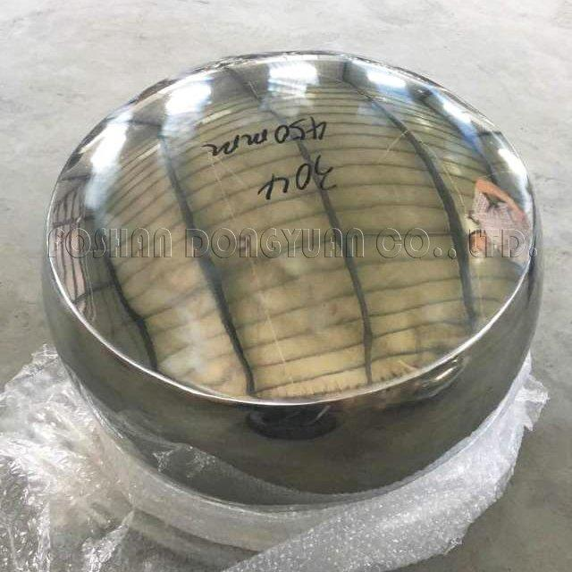 450mm Polished Convex Stainless Steel Hollow Ball