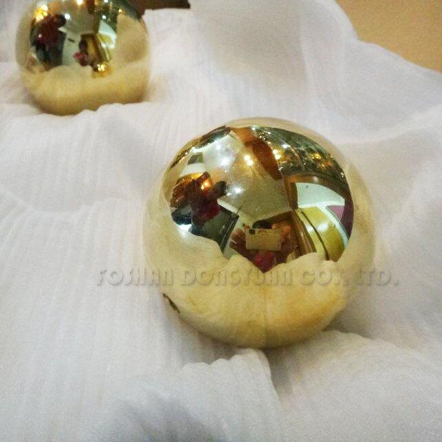 4 Inch Mirror Polished Brass Ball