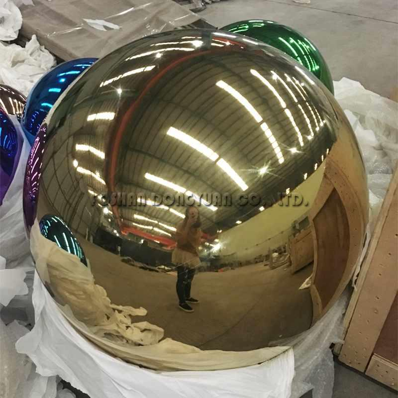 300mm Gold Gazing Stainless Steel Color Sphere