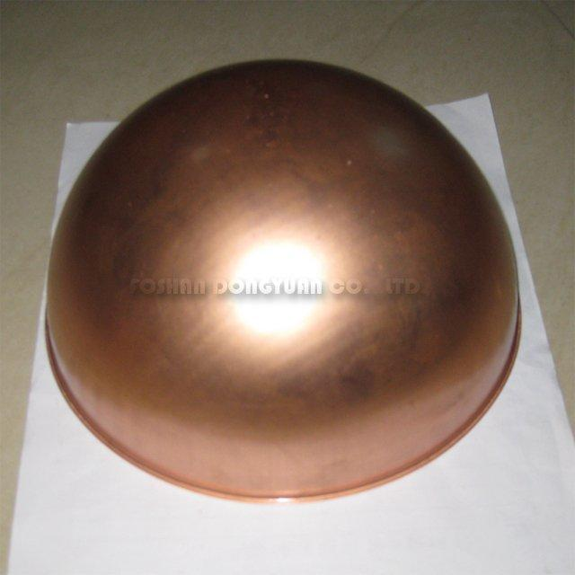 250mm Copper Sphere