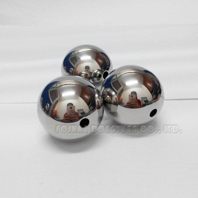 25mm Polished Stainless Steel Hollow Ball with Holes