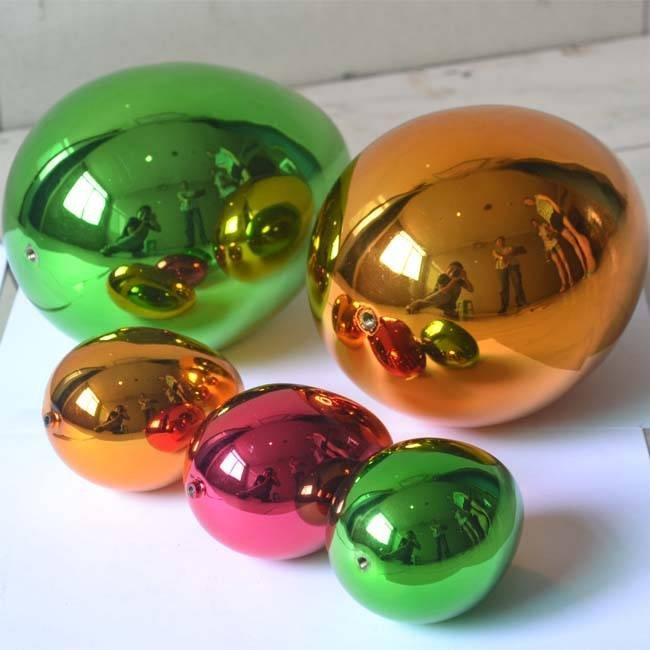 Stainless Steel Color Eggs