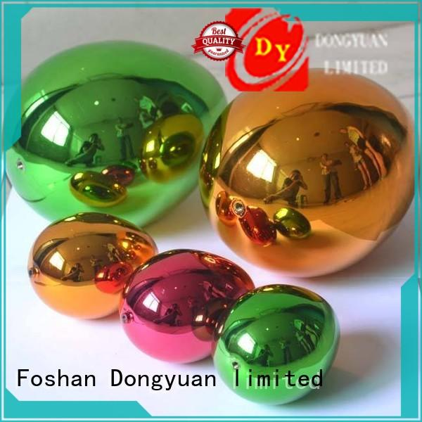 globe rose gold balls factory for outdoor DONGYUAN