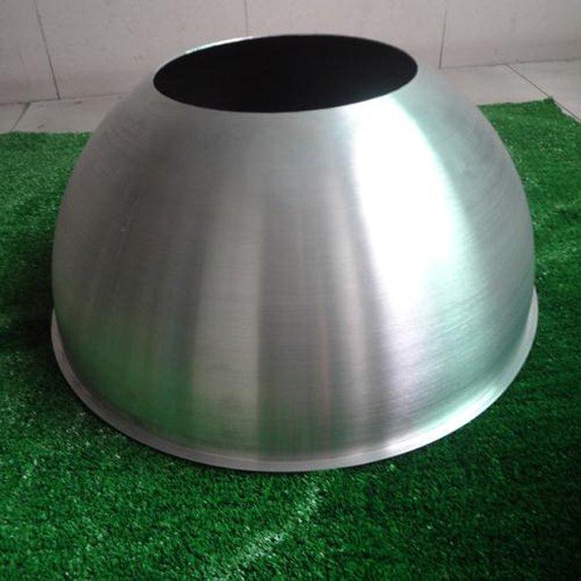 200mm Aluminum Hemisphere with Hole