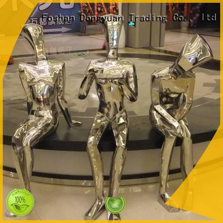 OEM contemporary metal art sculpture mocking abstract metal artwork