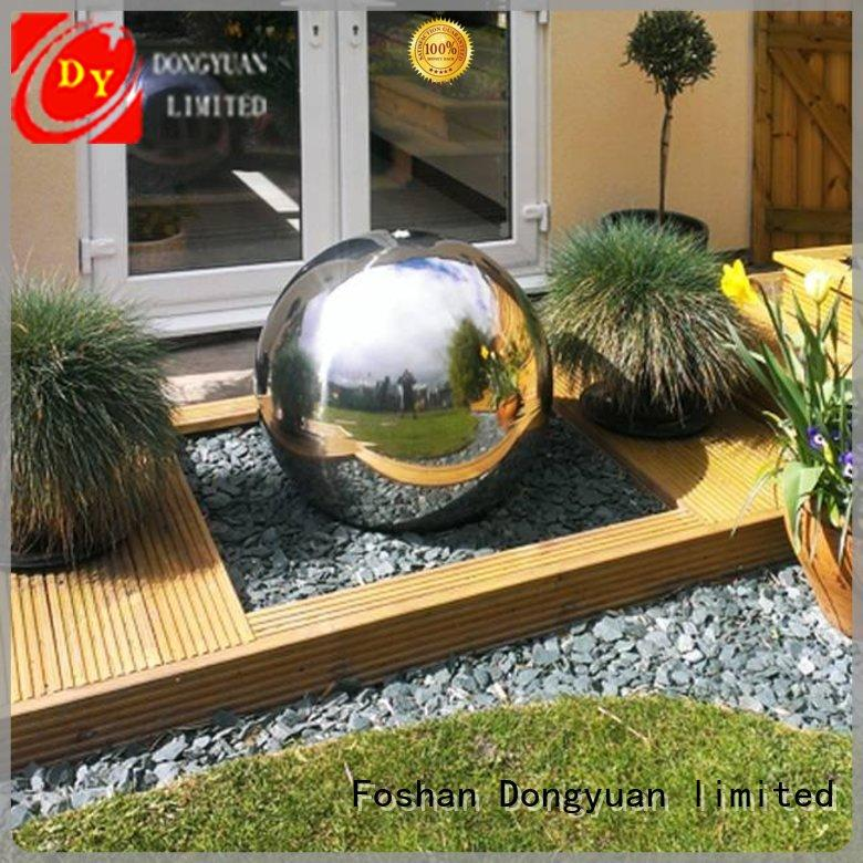 DONGYUAN steel 300MM to 3000MM metal hollow balls suppliers for hall