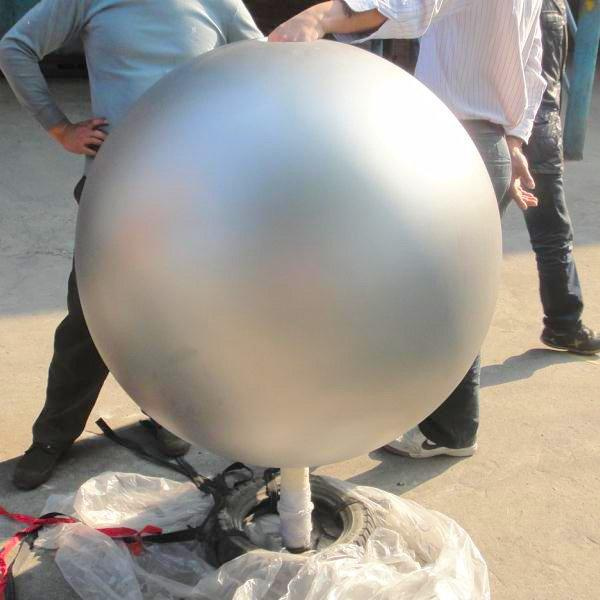 700mm Sandblasted Hollow Stainless Steel Ball