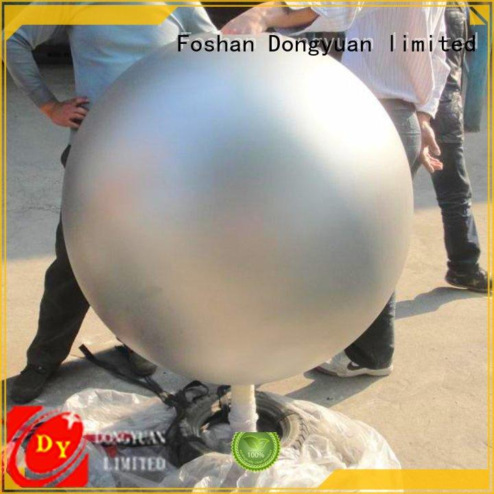 steel metal ball sculpture 800mm for livingroom DONGYUAN