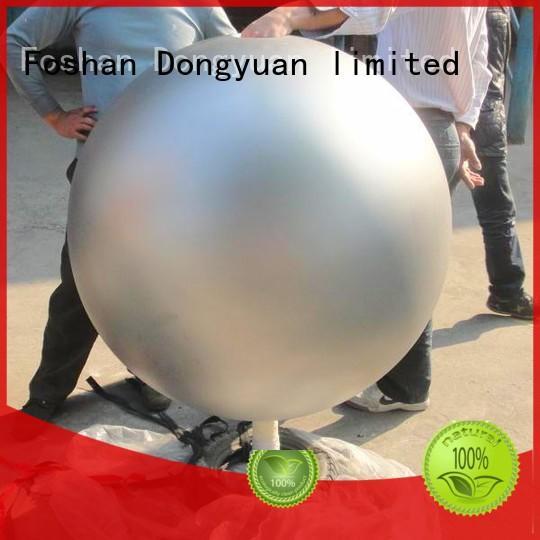 DONGYUAN sphere stainless steel mirror sphere garden ornament factory for livingroom