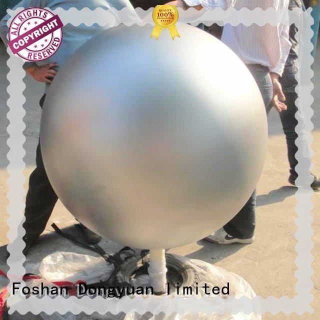 DONGYUAN unisphereworld sphere sculpture supply for hallway