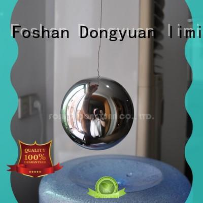DONGYUAN 80mm 6MM to 300MM metal hollow balls suppliers for outdoor