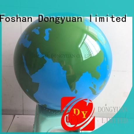 stainless steel float ball paintedgold for outdoor DONGYUAN