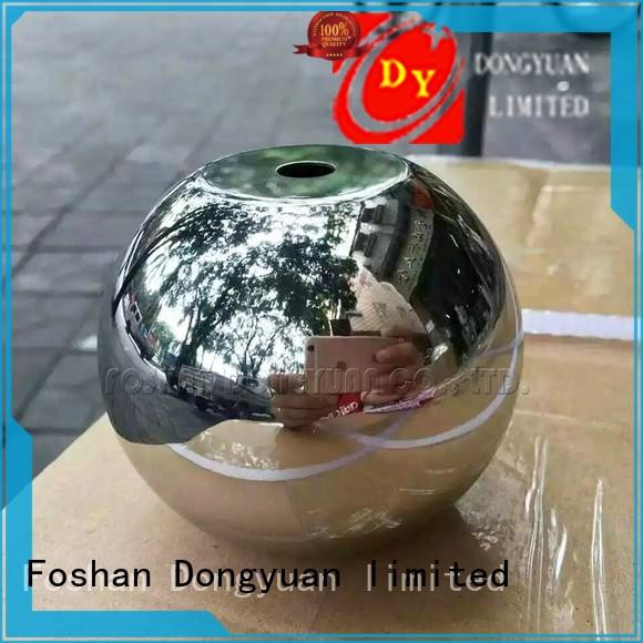 38mm Polished Stainless Steel Ball with Flat Hole