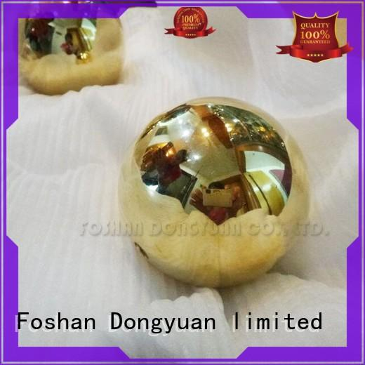4 Inch Mirror Polished Brass Ball