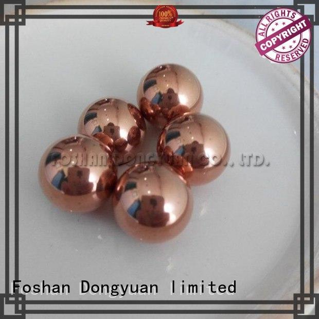 DONGYUAN brass solid copper balls company for street