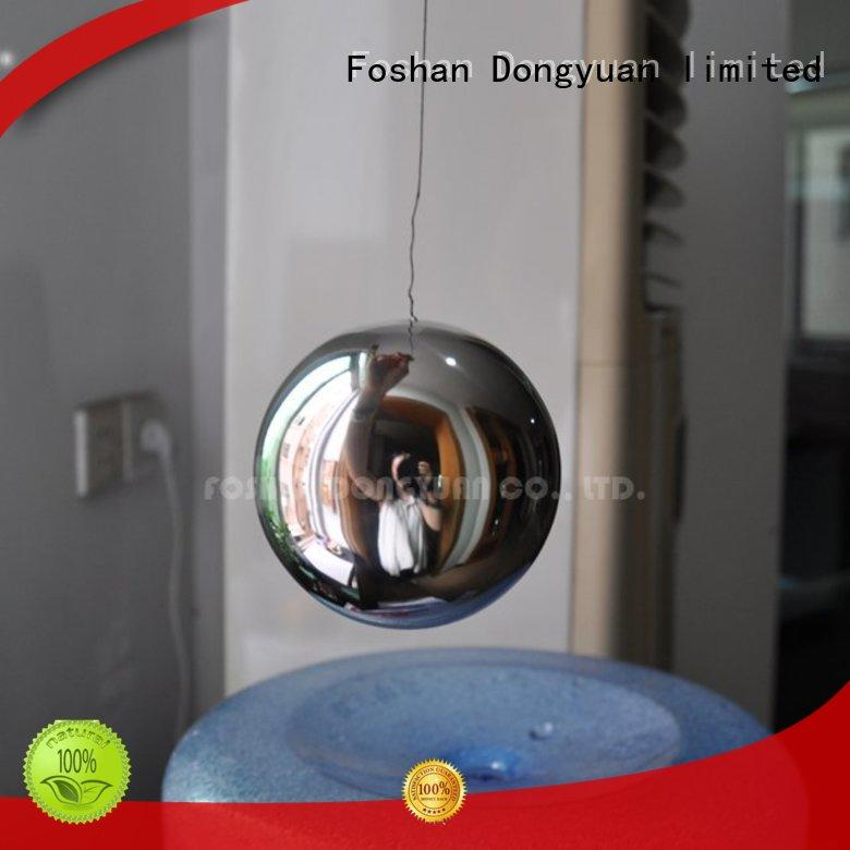 DONGYUAN polished 6MM to 300MM metal hollow balls manufacturers for street