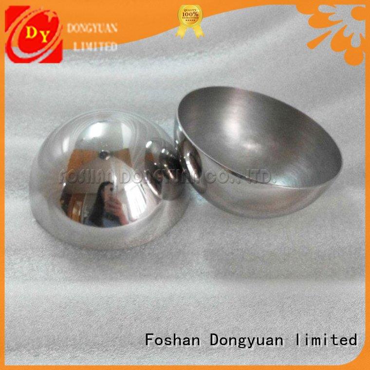 color bath hole large steel hemisphere DONGYUAN manufacture