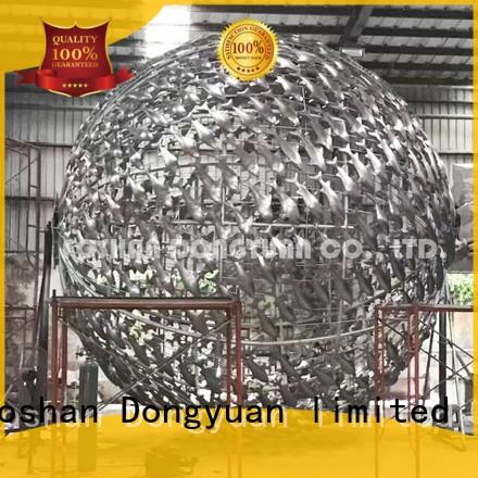 13 Feet Large Fish Decoration Sculpture for Plaza