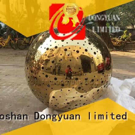 800mm Laser Cut Golden Stainless Steel Ball