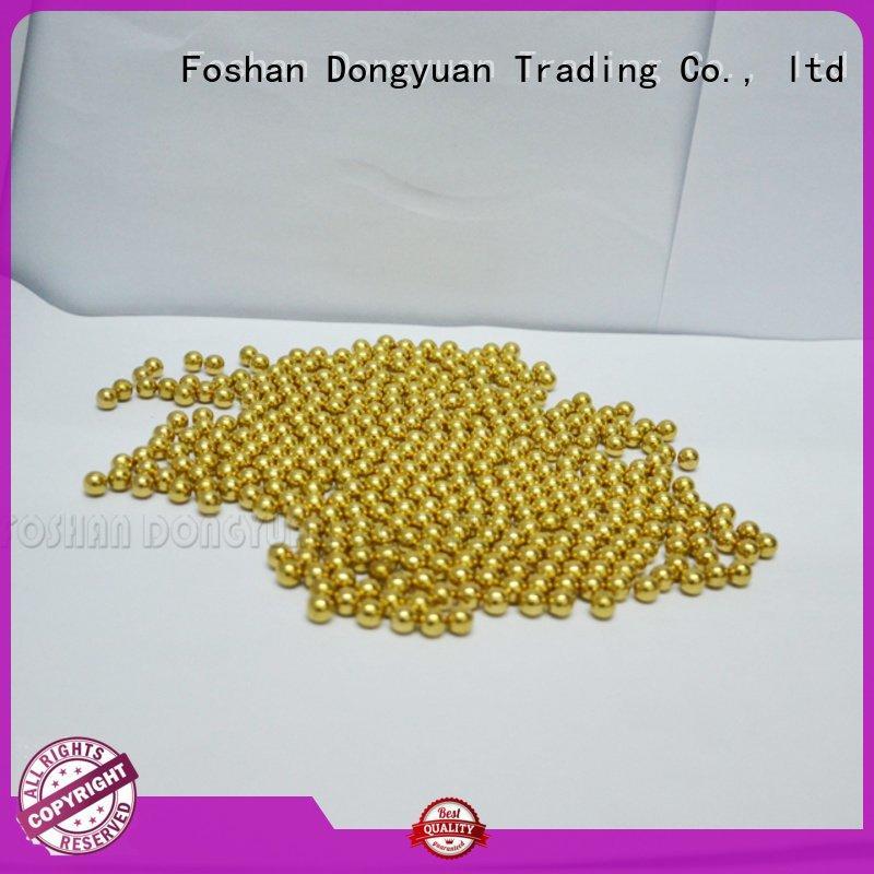 aluminum holes DONGYUAN small brass beads