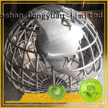 500mm Decorative Stainless Steel World Map Globe
