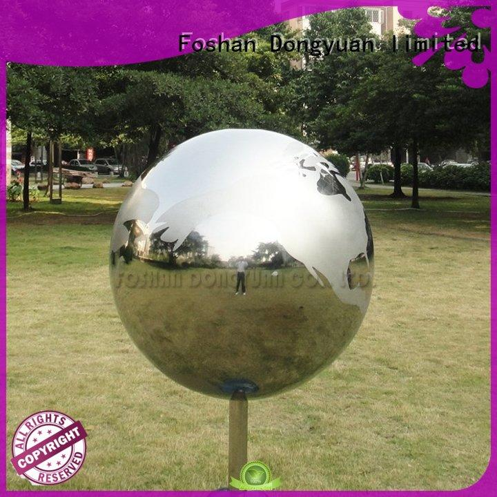 DONGYUAN 700mm large hollow metal balls directly sale for livingroom