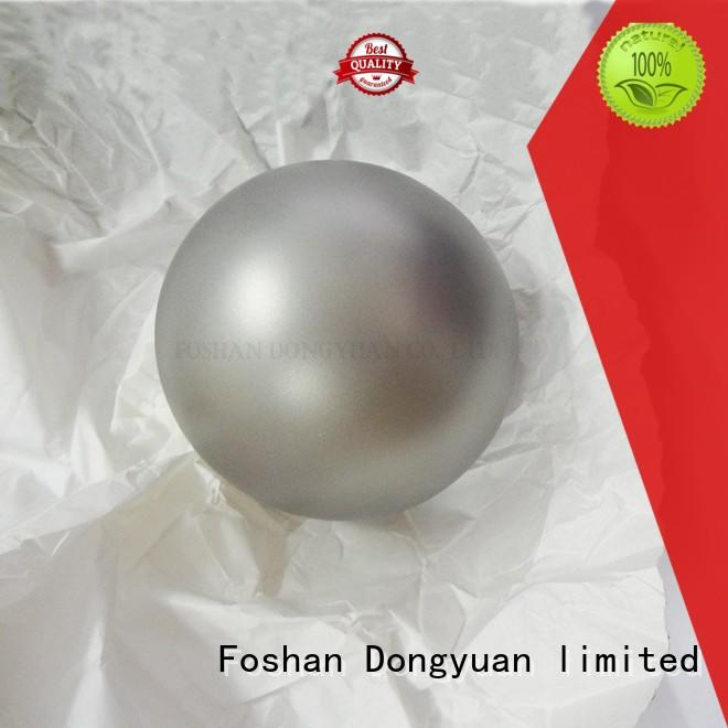 DONGYUAN brushed large ball ornaments 42mm for indoor