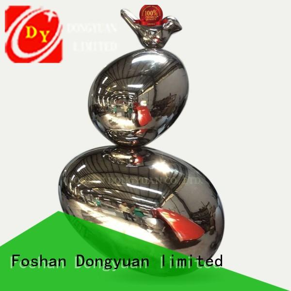 DONGYUAN High-quality large outdoor metal art company for hall