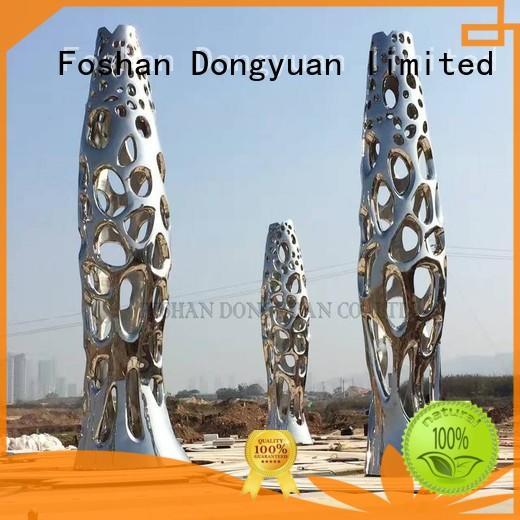 DONGYUAN decorative metal tree artwork cutouf for square