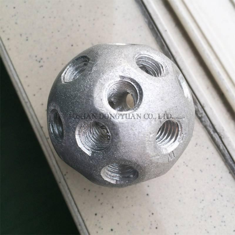 Threaded Solid Aluminum Ball