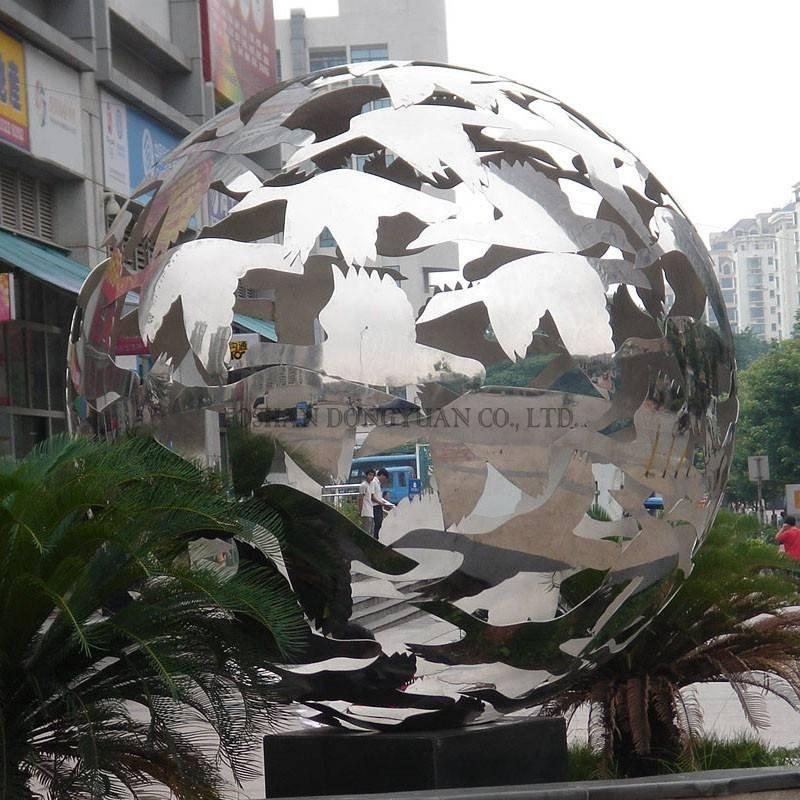 Decorative Dove Pattern Sphere