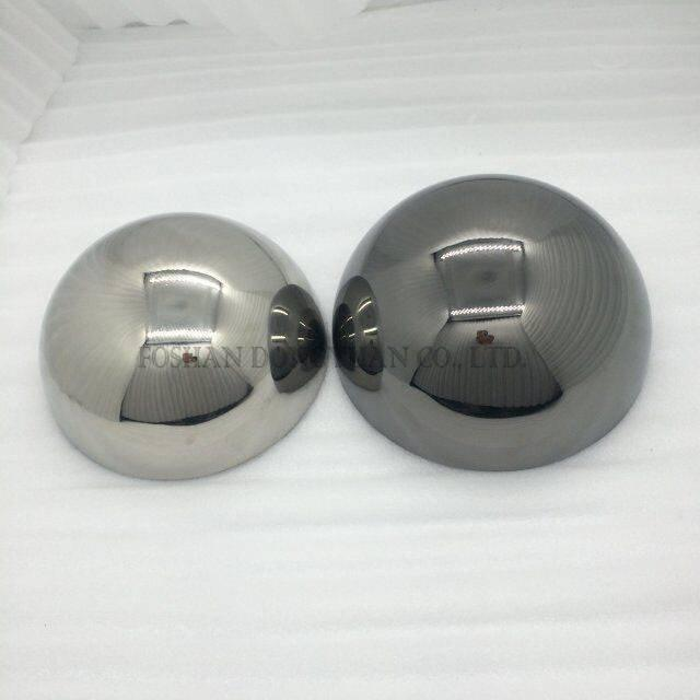Small Silver/Ball Hemispheres