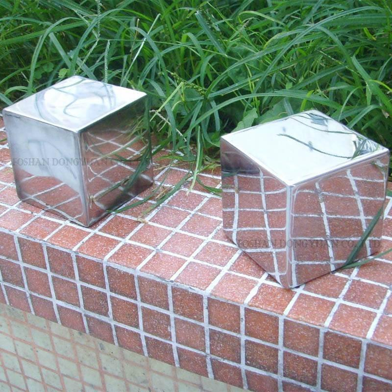 Polished Stainless Steel Cubes