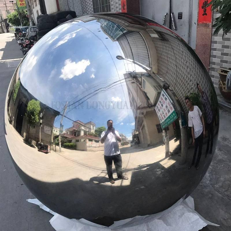 1000mm Polished Stainless Steel Hollow Ball