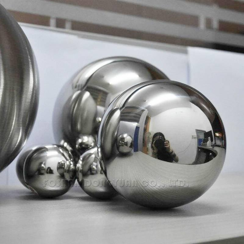 200mm Shiny Decoration Inox Steel Ball