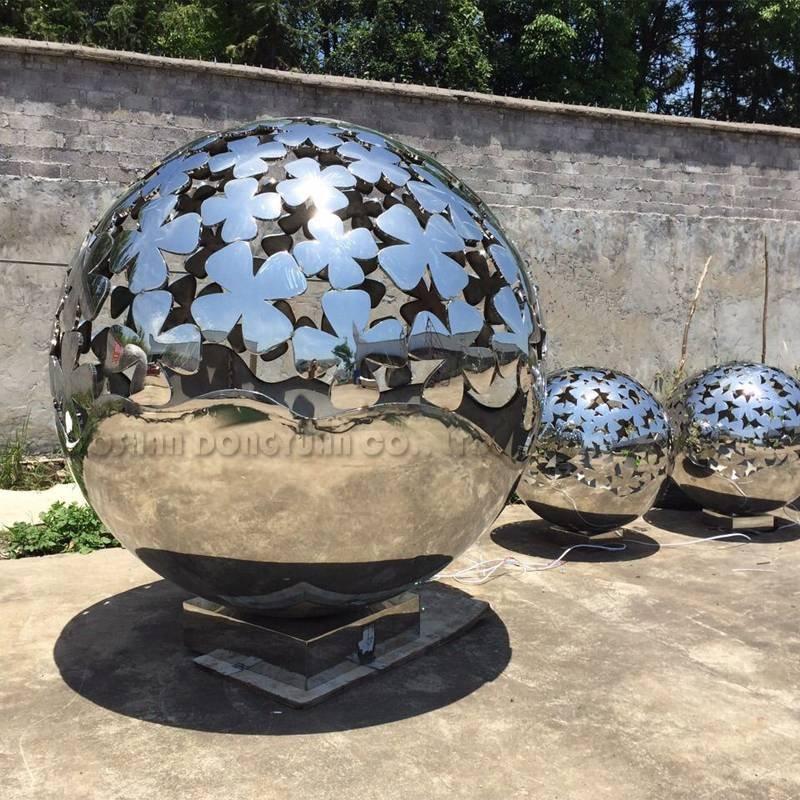 5 Feet Laser Cut Modern Decoration Metal Sculpture