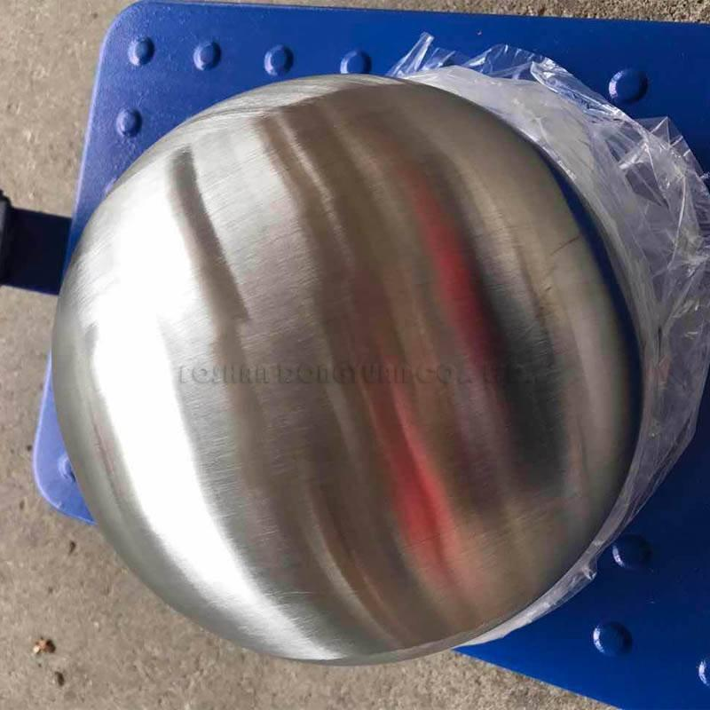 200mm Brushed Steel Ball