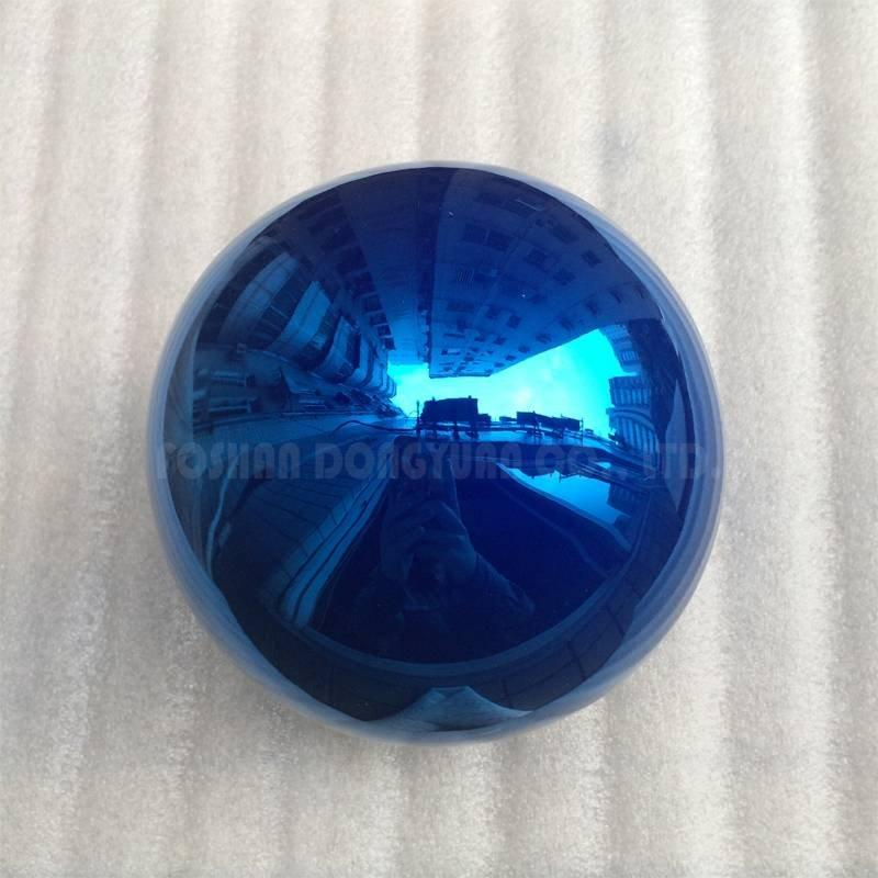 Blue Metal Color Ball