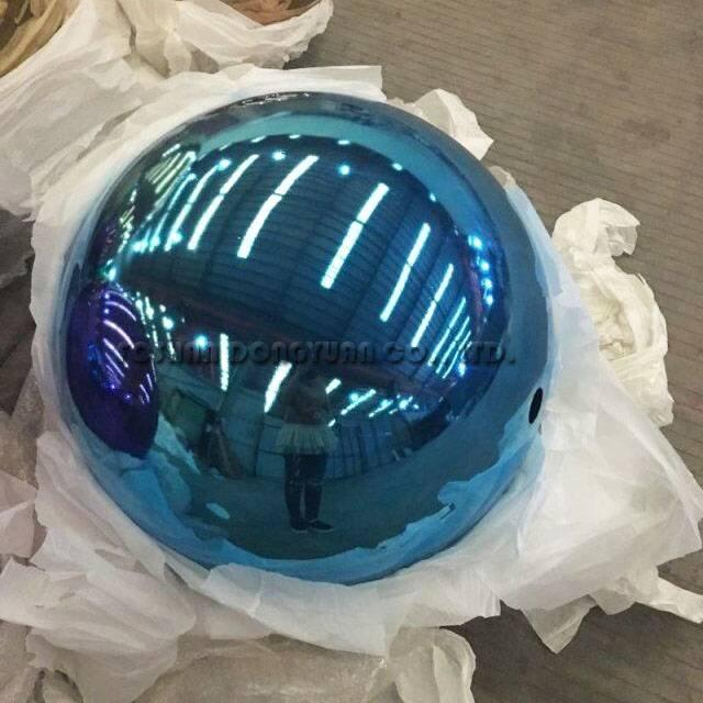 200mm Blue Stainless Steel Sphere