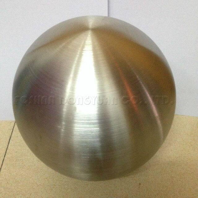 150mm Stainless Steel Hollow Brushed Ball/Sphere